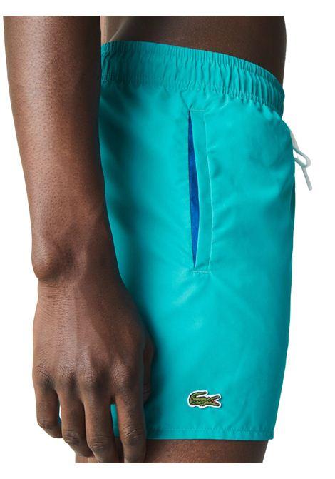 Costume azzurro LACOSTE | Costume | MH6270BHS
