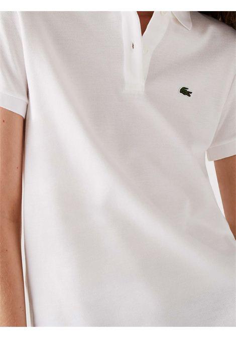 Polo slim fit bianca LACOSTE | Polo | PF7839001