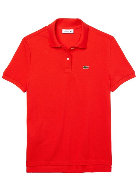 Polo  slim fit rossa LACOSTE | Polo | PF7839F8M