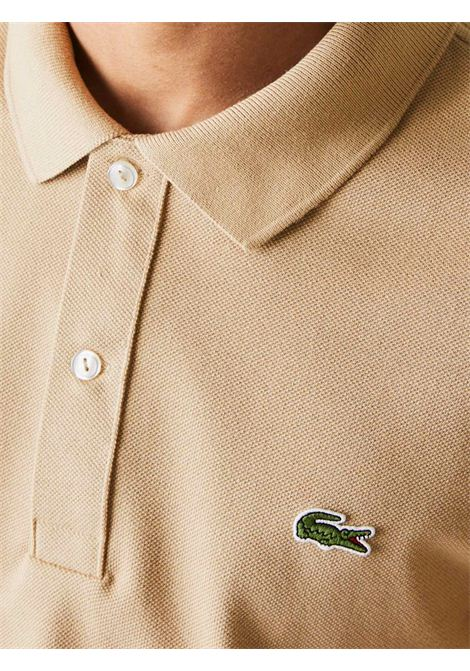 Polo  slim fit beige LACOSTE | Polo | PH401202S
