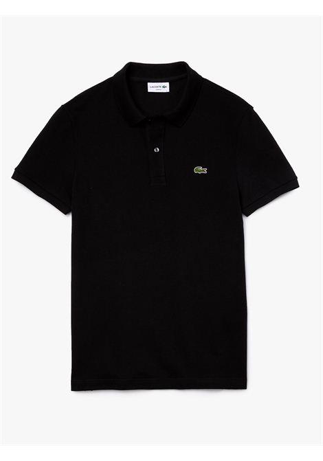 Polo  slim fit nero LACOSTE | Polo | PH4012031