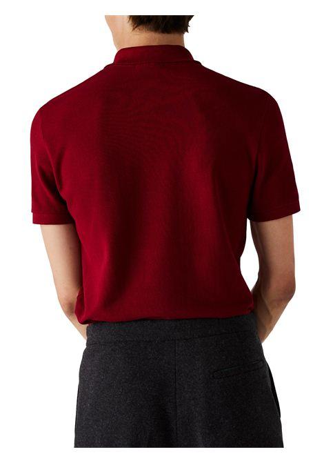 Polo  slim fit rosso  LACOSTE | Polo | PH4012476