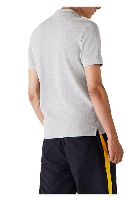 Polo slim fit grigia  LACOSTE | Polo | PH4012CCA