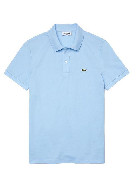Polo  slim fit azzurro LACOSTE | Polo | PH4012HBP