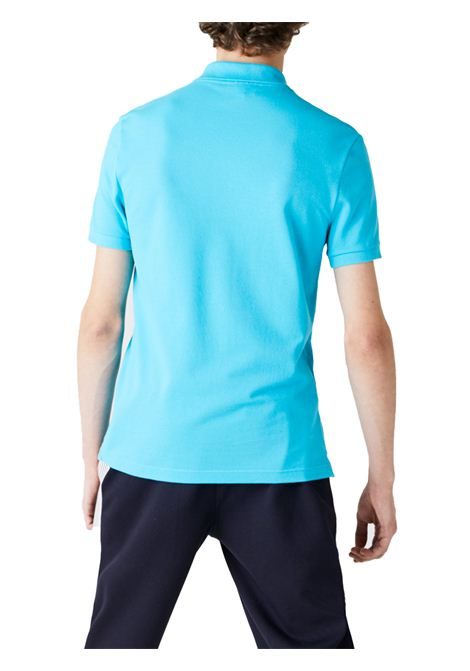 Polo slim fit turchese  LACOSTE | Polo | PH4012HL5
