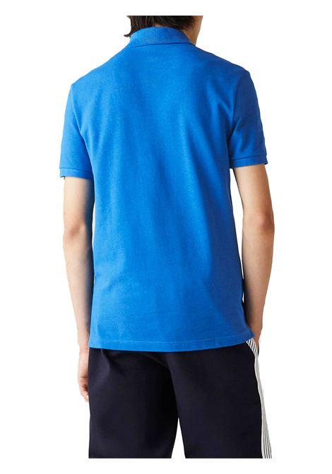 Polo  slim fit azzurra LACOSTE | Polo | PH4012QTP