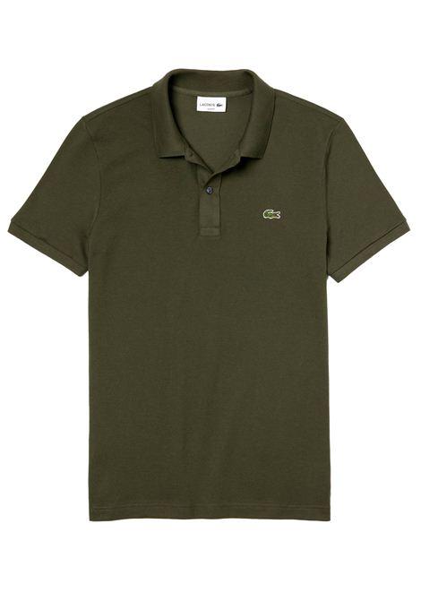 Polo  slim fit verde cachi  LACOSTE | Polo | PH4012S7T