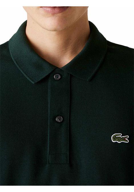 Polo  slim fit verde scuro  LACOSTE | Polo | PH4012YZP