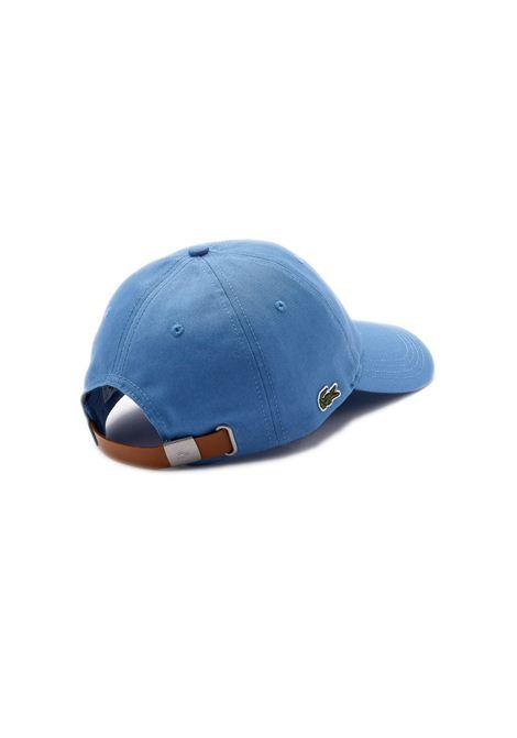 Cappelllo in cotone azzurro LACOSTE | Cappello | RK4709776