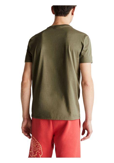 T-shirt a girocollo verde cachi LACOSTE | T-shirt | TH6709316