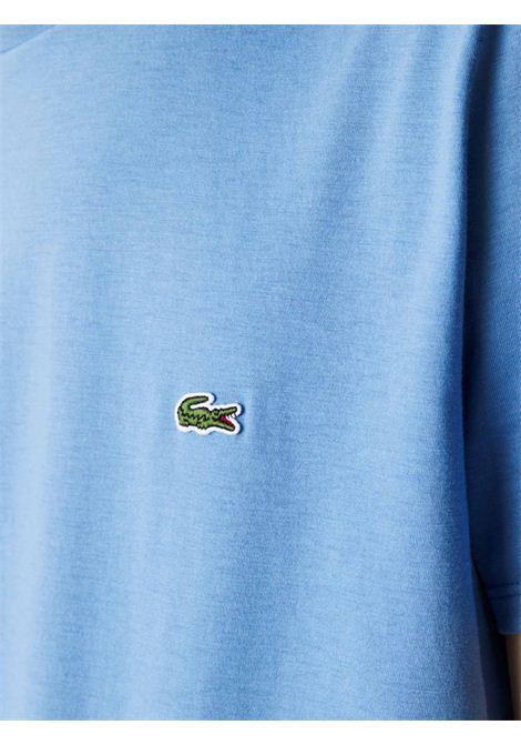 T-shirt a girocollo azzurra LACOSTE | T-shirt | TH6709776