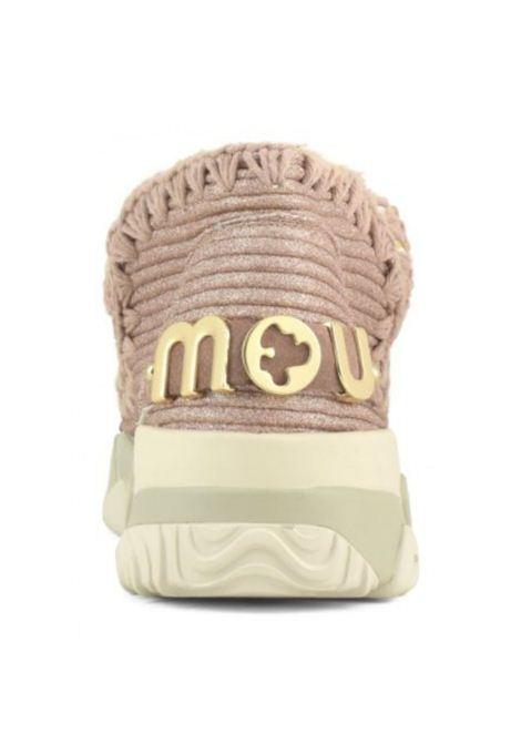 Eskimo trainer glitter MOU | Scarpe | MU.SW201005K/GLROBROSE