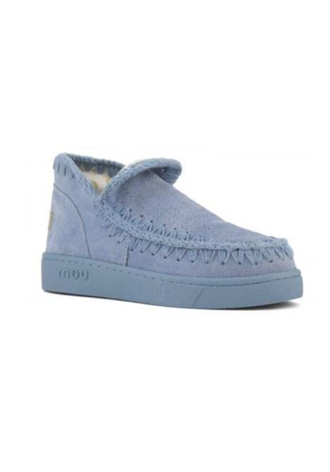 Eskimo sneaker monochrome MOU | Scarpe | MU.SW211011O/NIBLBLUE