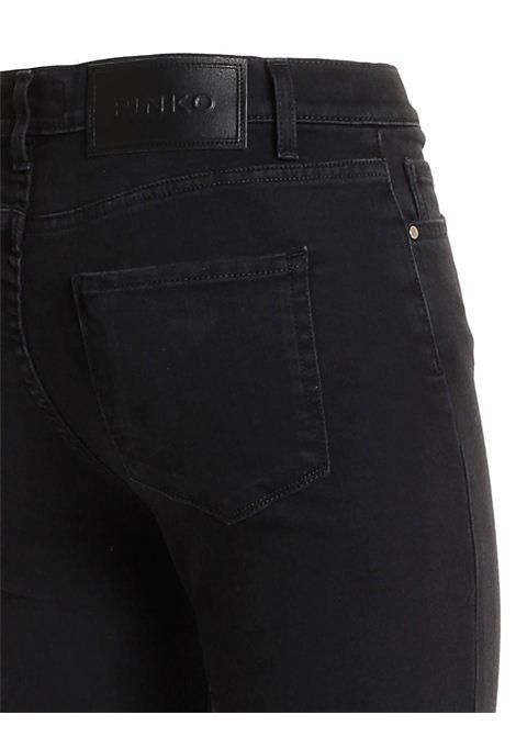 JEANS SKINNY IN DENIM BLACK PINKO | Jeans | 1J10KJ-Y6VLZ99