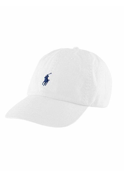 Cappello con visiera bianco RALPH LAUREN | Cappello | 710-548524001