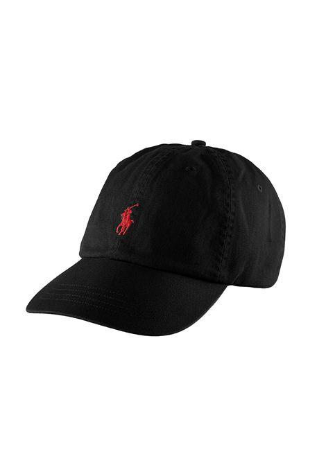 Cappello con visiera nero RALPH LAUREN | Cappello | 710-548524004