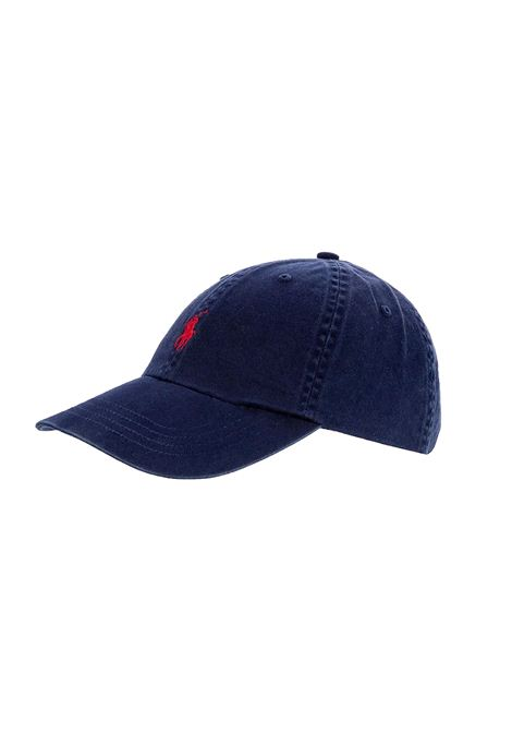 Cappello con visiera blu RALPH LAUREN | Cappello | 710-548524007