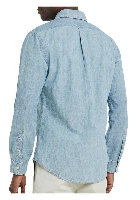 Camicia slim fit chambray RALPH LAUREN | Camicia | 710-548538001