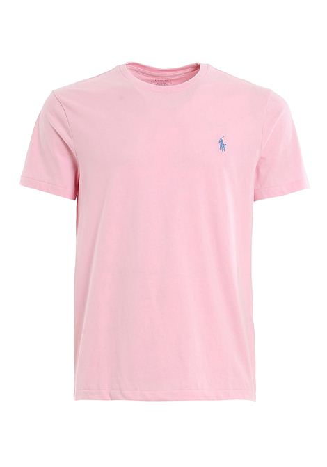 T-shirt rosa girocollo slimfit RALPH LAUREN | T-shirt | 710-671438145