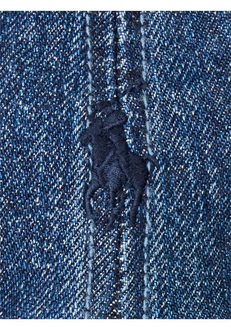 Cappello in jeans con logo RALPH LAUREN | Cappello | 710-674341001