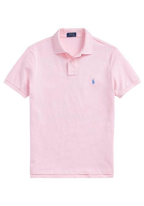 Polo regular in cotone rosa RALPH LAUREN | Polo | 710-795080004