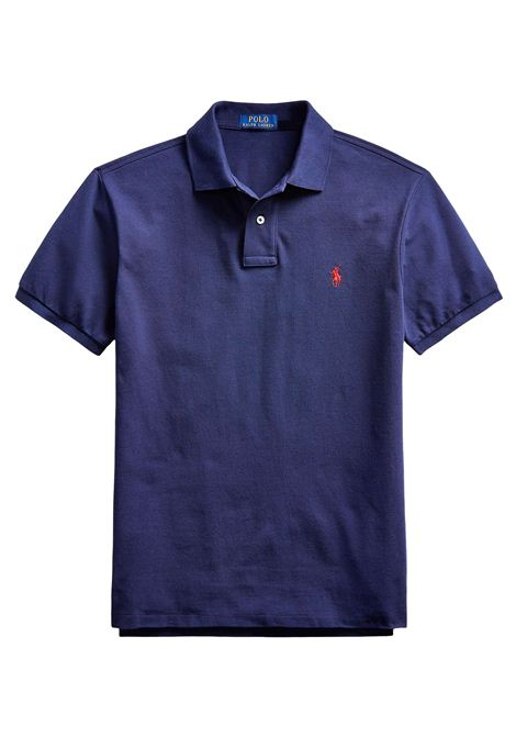 Polo regular in cotone scuro RALPH LAUREN | Polo | 710-795080007