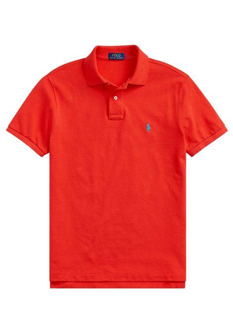 Polo regular in cotone rosso RALPH LAUREN | Polo | 710-795080011