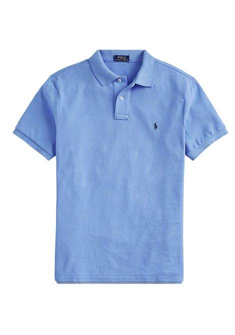 Polo regular in cotone blu RALPH LAUREN | Polo | 710-795080015