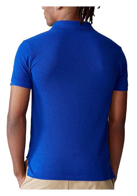Polo regular in cotone blu RALPH LAUREN | Polo | 710-795080021