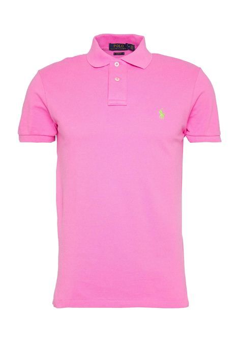 Polo regular in cotone rosa RALPH LAUREN | Polo | 710-795080032