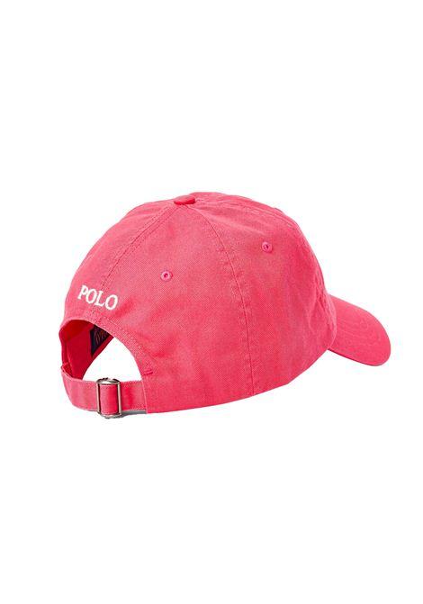 Cappello con visiera rosa RALPH LAUREN   Cappello   710-811338004