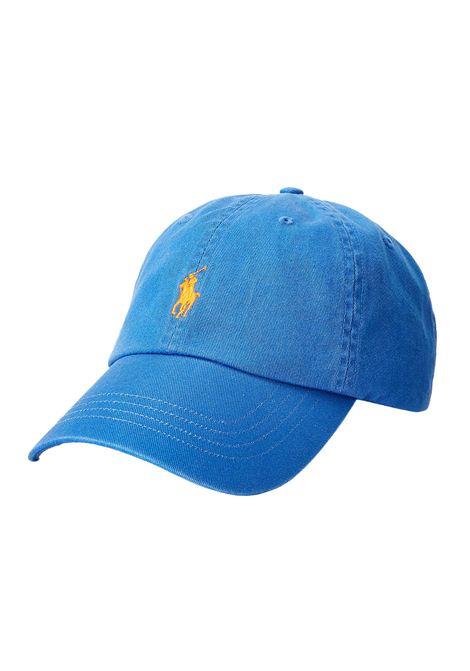 Cappello con visiera blu RALPH LAUREN | Cappello | 710-811338013