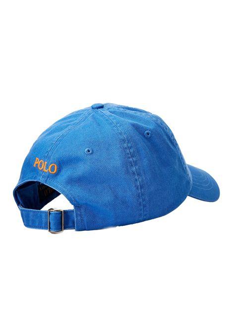 Cappello con visiera blu RALPH LAUREN   Cappello   710-811338013