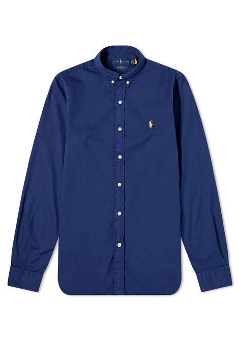 Camicia  in cotone con collo button down RALPH LAUREN | Camicia | 710-829421004