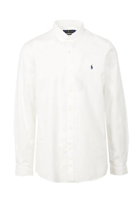Camicia  in cotone con collo button down RALPH LAUREN | Camicia | 710-829421005