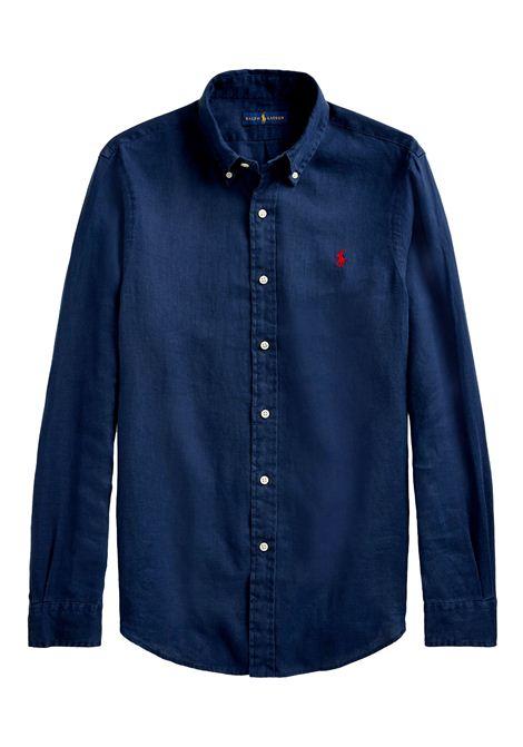 Camicia  in cotone con collo button down RALPH LAUREN | Camicia | 710-829443001