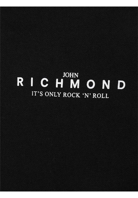 RICHMOND | Felpa | RMP21207FEXXBLACK
