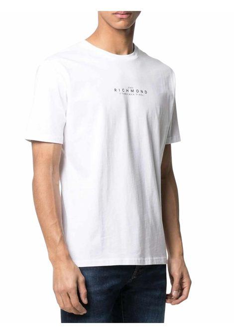 RICHMOND | T-shirt | RMP21228TSOFWHITE