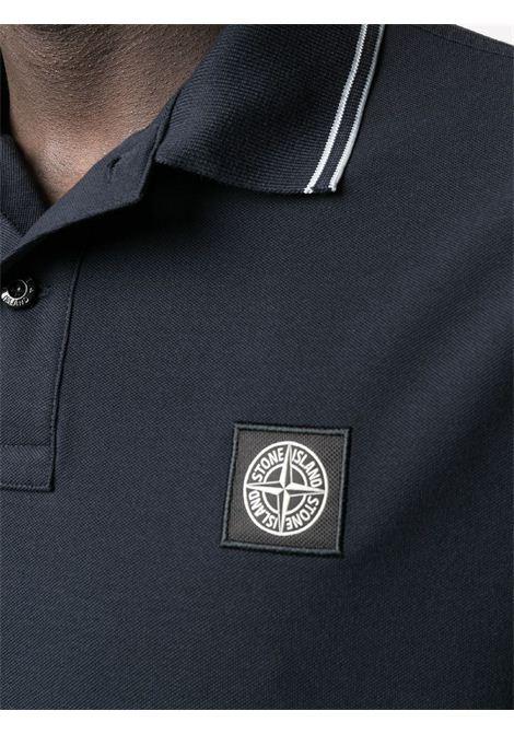 Polo con logo STONE ISLAND | Polo | MO101522S18V0020
