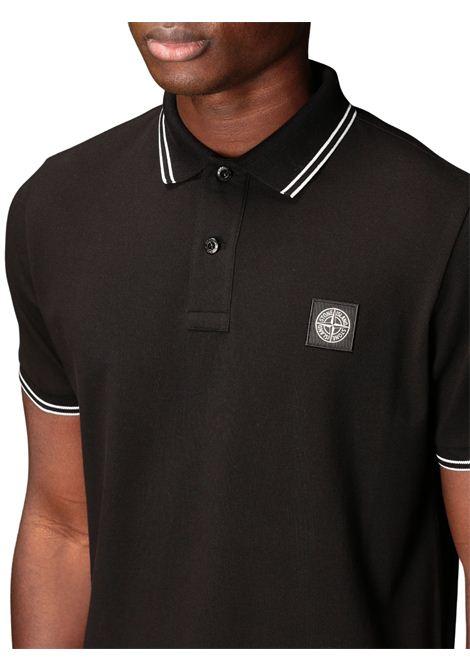 Polo con logo STONE ISLAND | Polo | MO101522S18V0029