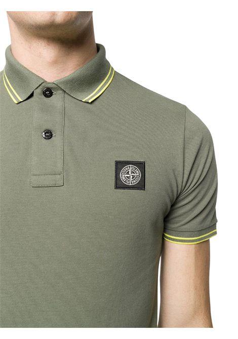 Polo con logo STONE ISLAND | Polo | MO101522S18V0058