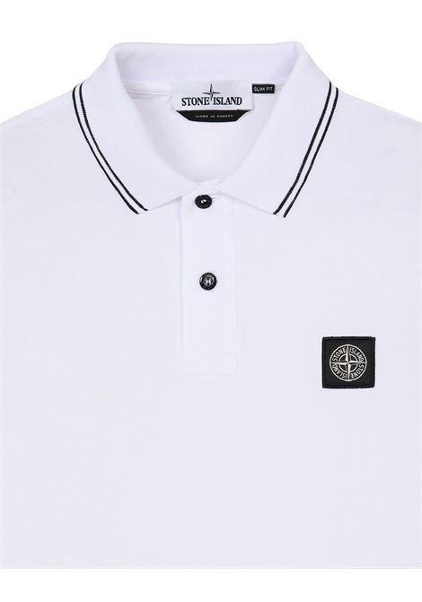 Polo con logo STONE ISLAND | Polo | MO101522S18V1001