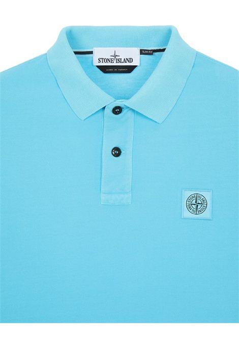 Polo con logo STONE ISLAND | Polo | MO741522S67V0042