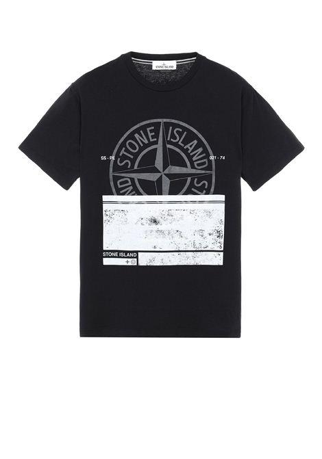 T-shirt girocollo STONE ISLAND | T-shirt | MO74152NS65V0029