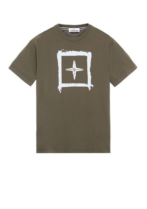 T-shirt girocollo STONE ISLAND | T-shirt | MO74152NS81V0058