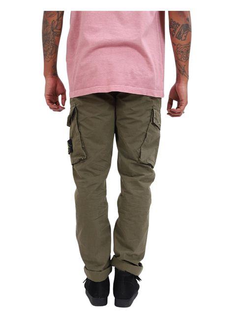Pantaloni cargo STONE ISLAND | Pantalone | MO7415318WAV0158