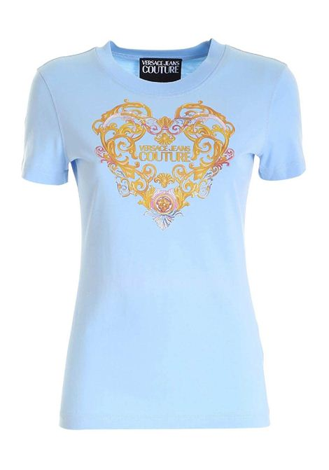 T-shirt con stampa VERSACE JEANS | T-shirt | B2HWA7PD30457216