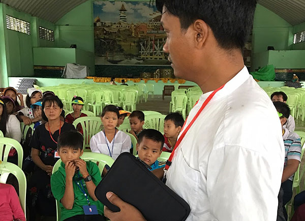 Myanmar pastor