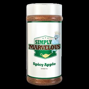 Simply Marvelous Spicy Apple Rub 12 5oz   BBQ Rub