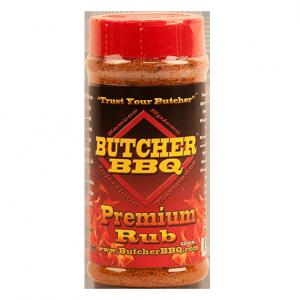 Butcher BBQ Premium Rub - 12oz | BBQ Rub | Rib Rub | Big Poppa Smokers